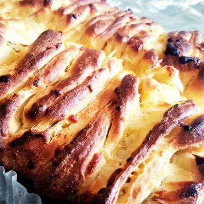 Cheesy Pull Apart Garlic Bread