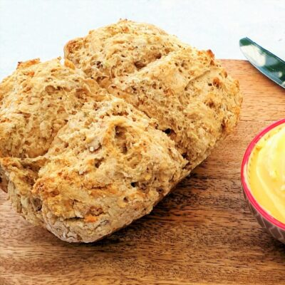 Chilli & Oregano Soda Bread