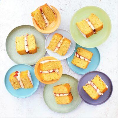 Victoria Sandwich Cake with Buttercream