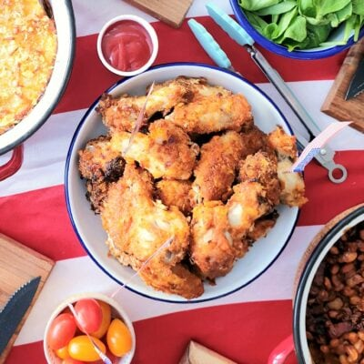 Southern Baked Chicken Wings