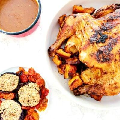 Paprika & Sage Butter Roast Chicken (Gluten Free)
