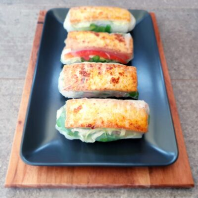 Tofu Spring Rolls (Vietnamese Summer Rolls)