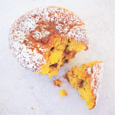 Whole Orange Choc Chip Muffins (Dairy & Gluten Free)