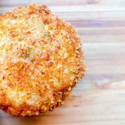 Fried Onigiri with Miso Scallops
