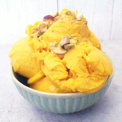 Mango Coconut Ice Cream (Vegan)