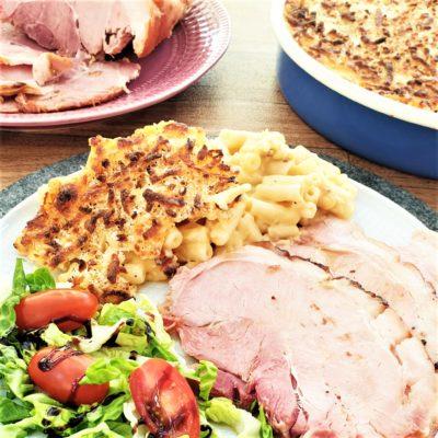 Ham, Mac'n'Cheese & Green Bean – An Everyday Americana Feast