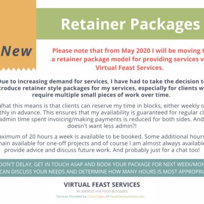 Virtual Feast Services