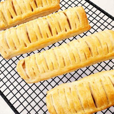 Vegan Sausage Rolls (Greggs Copycat)