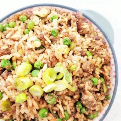 Plain Egg Fried Rice