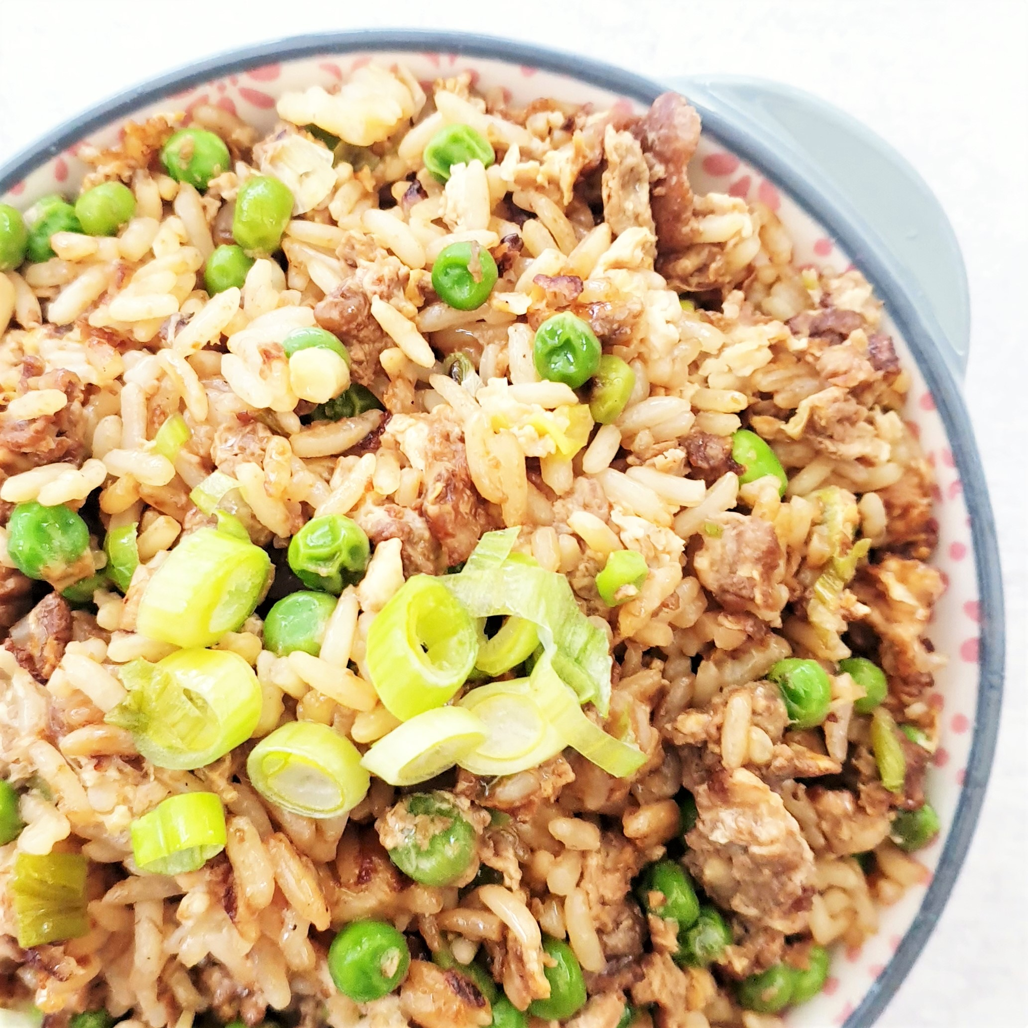Plain Egg Fried Rice Chinese Fakeaway Feast Glorious Feast