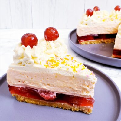 Sherry Trifle Cheesecake (No Bake)