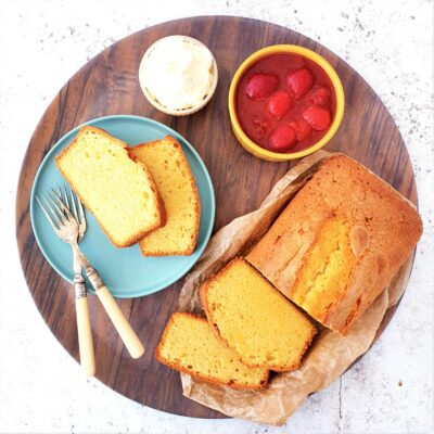 Pound Cake (Easy Loaf Cake)