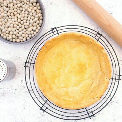 Blind Baked American Pie Crust