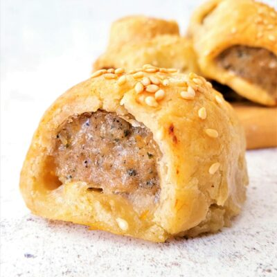 Shortcrust Pastry Sausage Rolls