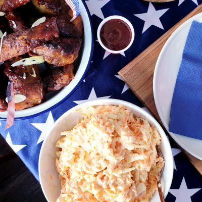 Ribs, Slaw & Sweet Potato – An Everyday Americana Feast