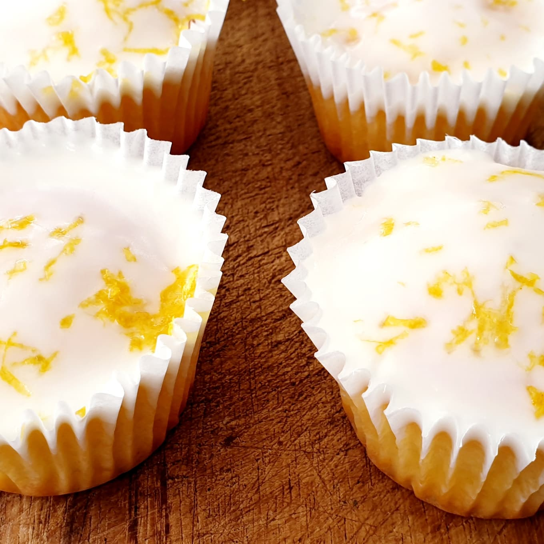 Mini Lemon Drizzle Cakes with Cointreau